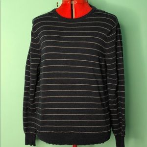 J crew scoop neck merino wool sweater L EUC